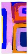 Abstract 223b Bath Towel