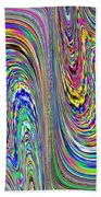 Abstract 3 Bath Towel
