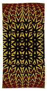 Abstract 442 Bath Towel