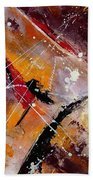 Abstract 45 Bath Towel