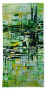 Abstract 5 Bath Towel