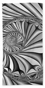 Abstract 527 Bw Hand Towel
