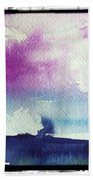 Purple Sky's  Bath Towel