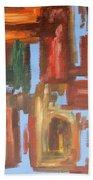 Abstract 611 Bath Towel