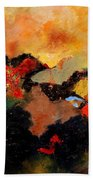 Abstract 8080 Bath Towel