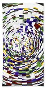 Abstract 813 Bath Towel