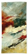 Abstract 9 Bath Towel