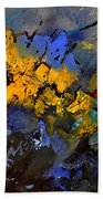 Abstract 972 Bath Towel
