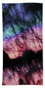 Abstract Accident Bath Towel