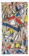 Abstract Art Seven Bath Towel