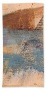 Abstract At Sea 2 Bath Towel