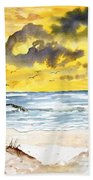 Abstract Beach Sand Dunes Bath Towel