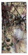 Abstract Birch Bath Towel