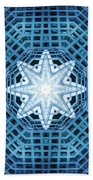 Abstract Blue 14 Bath Towel