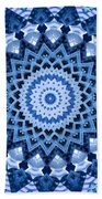 Abstract Blue 17 Bath Towel