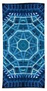 Abstract Blue 18 Bath Towel