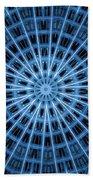 Abstract Blue 28 Bath Towel