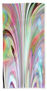 Abstract Butterfly Bath Towel by Mihaela Stancu