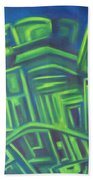 Abstract Cityscape Series IIi Bath Towel