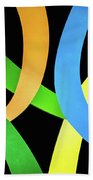 Abstract Colors Bath Towel