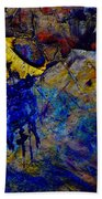 Abstract Composition Bath Towel