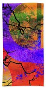 Abstract Configuration Hand Towel