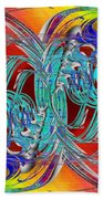 Abstract Cubed 280 Bath Towel