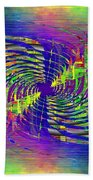 Abstract Cubed 298 Bath Towel
