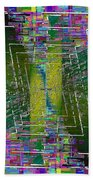Abstract Cubed 310 Bath Towel