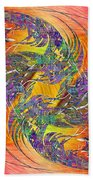 Abstract Cubed 314 Bath Towel
