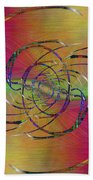 Abstract Cubed 317 Bath Towel