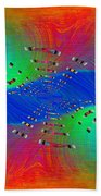 Abstract Cubed 328 Bath Towel