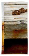 Abstract Dock Bath Towel