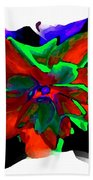 Abstract Elegance Bath Towel