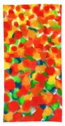 Abstract Field Bath Towel