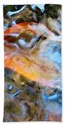 Abstract Fish Art - Fairy Tail Bath Towel