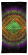 Abstract Fractal Bath Towel