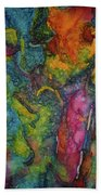 Abstract From Kansas City Hand Towel