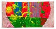 Abstract Heart 310118 Hand Towel
