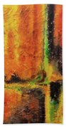 abstract I Bath Towel