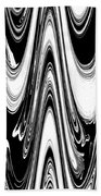 Abstract IIi Death Mask Bath Towel