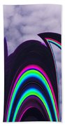 Abstract In The Clouds Bath Towel