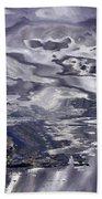 Abstract  Bath Towel