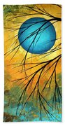 Abstract Landscape Art Passing Beauty 1 Of 5 Bath Towel