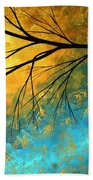 Abstract Landscape Art Passing Beauty 2 Of 5 Bath Towel