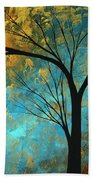 Abstract Landscape Art Passing Beauty 3 Of 5 Hand Towel