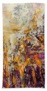 abstract landscape VI Bath Towel