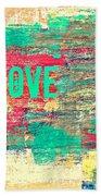 Abstract Love V2 Hand Towel