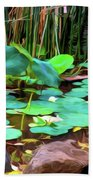 Abstract Nature 4043 Bath Towel