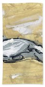 Abstract Nude Hand Towel